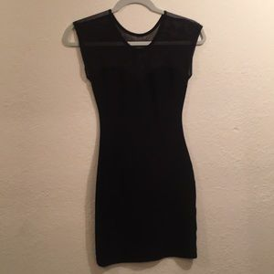 American apparel dress with mesh
